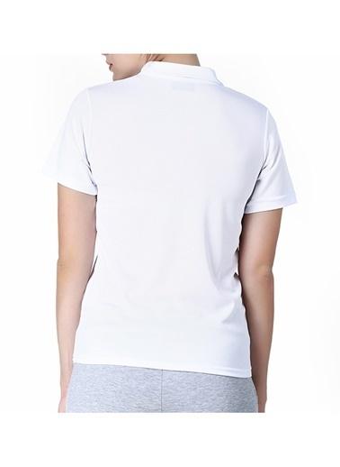 Kappa Polo Slim Fit Unisex T-Shirt Beyaz